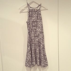 Spaghetti strap knot dress